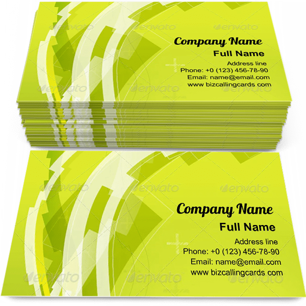 Sample of Abstract Digital Line calling card design for advertisements marketing ideas and promote Digital branding identity