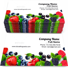Berry Business Card Examples for Create Custome Design