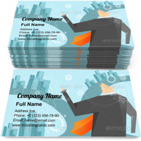 Business Decision Business Card Template