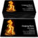 Dancing Girl of Fire Business Card Template