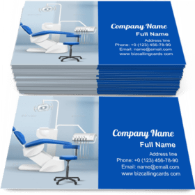 Dental Practice Room Business Card Template