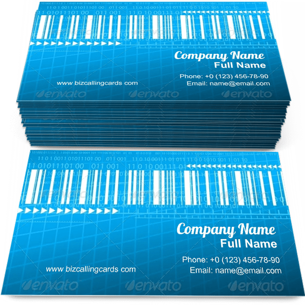 Sample of Digital different signs calling card design for advertisements marketing ideas and promote barcode branding identity