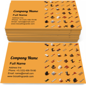 Do it and home renovation Business Card Template