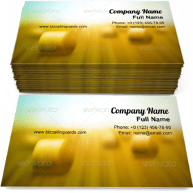 Hay Bale Business Card Template