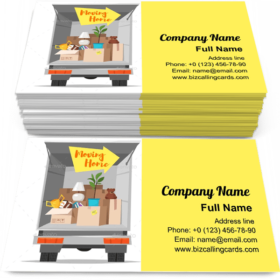 Home Moving Business Card Template