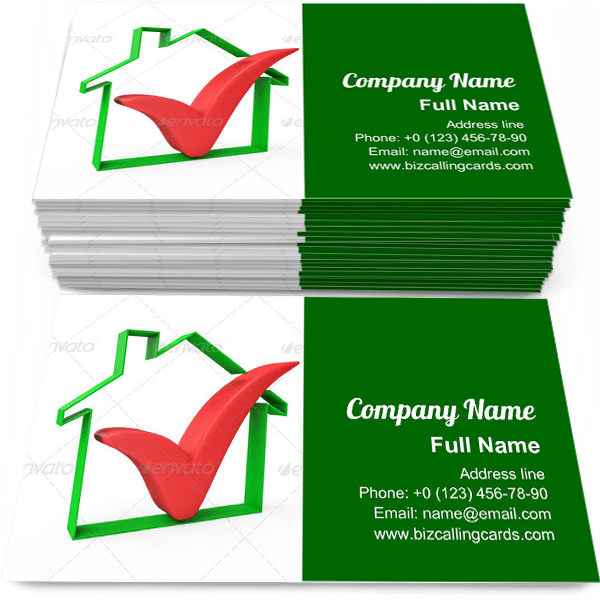 Example of Symbol Business Card Template