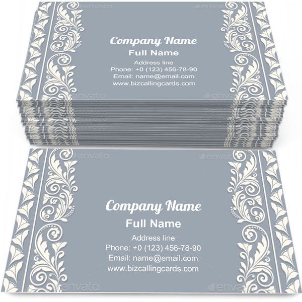 Sample of Modern decorative frame business card design for advertisements marketing ideas and promote invitation branding identity