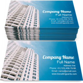 Urban Residential House Business Card Template