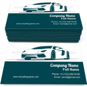 Sport Car and Racing Business Card Template
