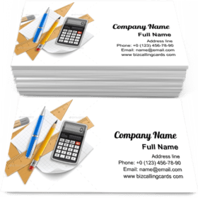 Tools Set for Education Business Card Template