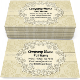 Vignette decor frame Business Card Template