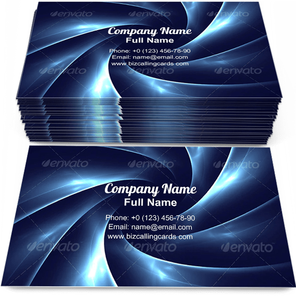 Sample of Whirlwind blend mix calling card design for advertisements marketing ideas and promote cyberspace branding identity