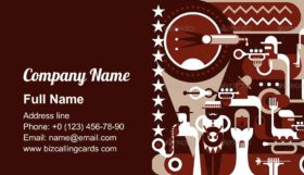 The Jazz Band Business Card Template